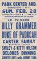 Billy Grammar and Duke of Paducah at the Park Center Auditorium