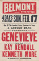 Belmont Theaters feature film, Genevieve