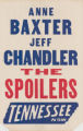 Tennessee Theaters feature film, The Spoilers