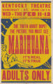 Kentucky Theaters feature film, Marihuana