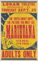 Logan Theaters feature film, Marihuana