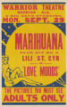 Warrior Theaters feature film, Marihuana