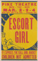 Pike Theaters feature film, Escort Girl
