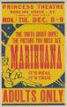 Princess Theaters feature film, Marihuana