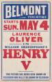 Belmont Theatre's feature film, Henry V