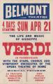 Belmont Theatre's feature film, Verdi