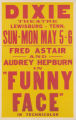 Dixie Theatre's feature film, Funny Face