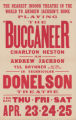 Donelson Theaters feature film, Buccaneer