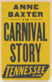 Tennessee Theaters feature film, Carnival Story
