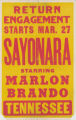 Tennessee Theaters feature film, Sayonara