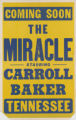 Tennessee Theaters feature film, The Miracle
