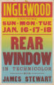 Inglewood Theatre's feature film, Rear Window