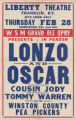 Grand Ole Opry star Lonzo and Oscar at Liberty Theatre