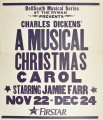 A Musical Christmas Carol at the Ryman Auditorium