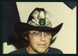 Bobby Bare in glasses and cowboy hat